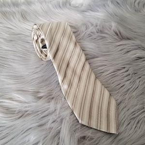 Alfani Beige Patterned Tie